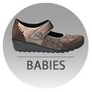 Chaussures brides babies femme Mephisto