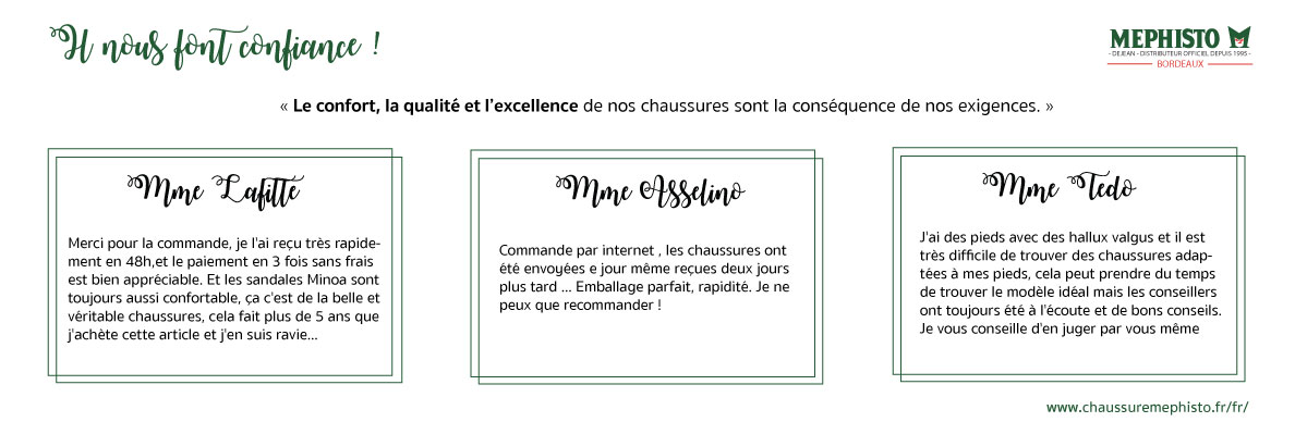 Avis client Mephisto Bordeaux